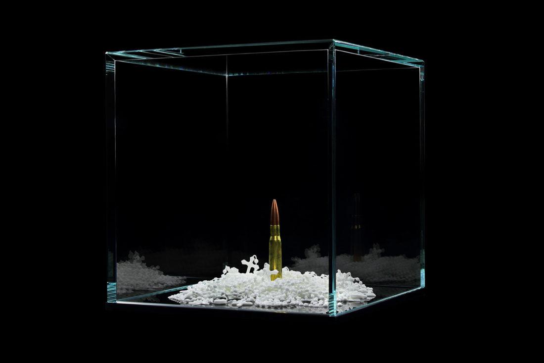 artwork bullet - rosaries created by meimorettini duo italian artists